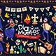 Dia De Los Muertos Vector Illustrations - GraphicRiver Item for Sale