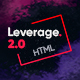 Leverage - Agency Bootstrap HTML Template - ThemeForest Item for Sale