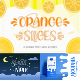 Orange Slices   Quirky Font - GraphicRiver Item for Sale