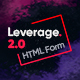 Leverage - Form Wizard Bootstrap HTML Template - ThemeForest Item for Sale