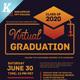 Virtual Graduation Flyer Templates - GraphicRiver Item for Sale