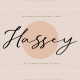 Hassey – A Modern Calligraphy Font - GraphicRiver Item for Sale