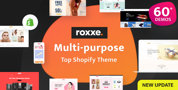 Roxxe - Responsive Multipurpose Shopify Theme