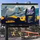 Surf Shop Billboard Banner - GraphicRiver Item for Sale