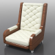 Armchair Relax v2 - 3DOcean Item for Sale