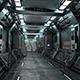 Sci-Fi Modular Corridor with Door - Low Poly - 3DOcean Item for Sale