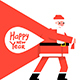 Santa Claus with a Bag - GraphicRiver Item for Sale