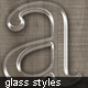 Glass Text Styles - GraphicRiver Item for Sale