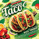 Taco Tuesday Flyer - GraphicRiver Item for Sale