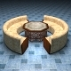 Authentic Dining Set - 3DOcean Item for Sale