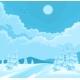 Winter Rural Landscape - GraphicRiver Item for Sale