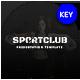 Sport Club Keynote Template - GraphicRiver Item for Sale