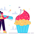 Cartoon Vector Illustration Sweet-Tooth - GraphicRiver Item for Sale