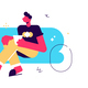 Man on Sofa - GraphicRiver Item for Sale