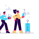 Cartoon Traveling Couple - GraphicRiver Item for Sale