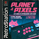 Retro Gaming Flyer 80s Classic Arcade Stick Template - GraphicRiver Item for Sale