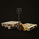 Pallet Jack with Pallets - Low Poly - 3DOcean Item for Sale