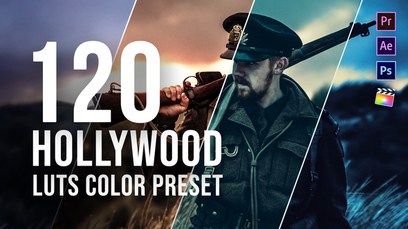 Hollywood LUT Color Grading Pack