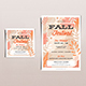 Fall Festival Weekend Template Set - GraphicRiver Item for Sale