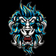 Angry Mystic Lion - GraphicRiver Item for Sale