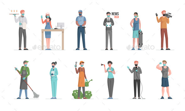 Labor Day Vector Flat Concept