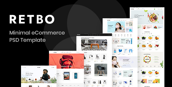 Download Retbo – eCommerce PSD Template Nulled