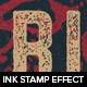 Photoshop Ink Stamp effect - GraphicRiver Item for Sale