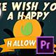 Halloween Logo | For Premiere Pro