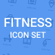 Fitness Icon Set - GraphicRiver Item for Sale