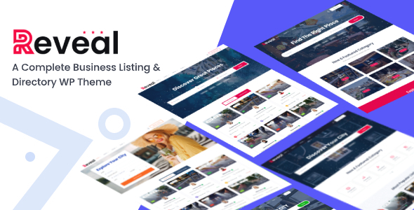 Reveal - Directory & Listing WordPress Theme
