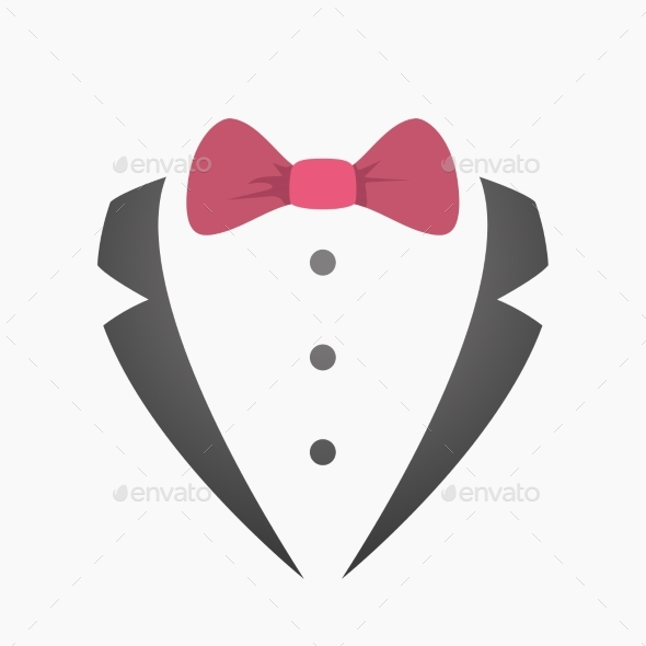 Father Day Silhouette with Red Color Bow