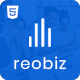 Reobiz - Consulting Business HTML Template - ThemeForest Item for Sale