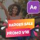 Badges Sale Promo V18 - VideoHive Item for Sale