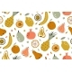 Tropical Summer Fruit Seamless Pattern. Vector - GraphicRiver Item for Sale