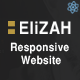 Elizah – Business And Corporate  React JS Responsive Website - ThemeForest Item for Sale