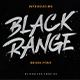 Black Range Brush Font - GraphicRiver Item for Sale