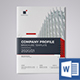 Company Profile Word Template - GraphicRiver Item for Sale