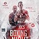 Flyer Boxing Night Event - GraphicRiver Item for Sale