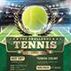 Tennis Tournament Flyer - GraphicRiver Item for Sale