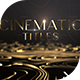 Abstract Luxury Titles - VideoHive Item for Sale