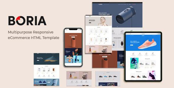 Review: Boria - Multipurpose Responsive eCommerce HTML Template free download Review: Boria - Multipurpose Responsive eCommerce HTML Template nulled Review: Boria - Multipurpose Responsive eCommerce HTML Template