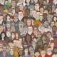 Vector Cartoon Illustration - Crowd of People - GraphicRiver Item for Sale