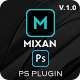 Mixan Photoshop Plugin for Animated Backgrounds and Overlays - GraphicRiver Item for Sale
