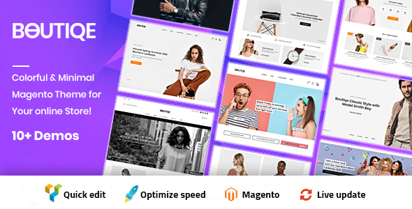Boutique Magento 2 Theme | RTL Supported