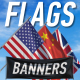 Flags And Banners - VideoHive Item for Sale
