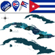 Map of Cuba with Provinces - GraphicRiver Item for Sale