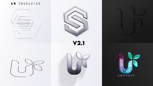 Drawing Logo Reveal 3IN1