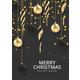 Xmas Background Gold Christmas Ball - GraphicRiver Item for Sale