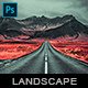 Landscape - Photoshop Action - GraphicRiver Item for Sale