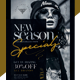 New Season Social Media Pack + Flyer Template - GraphicRiver Item for Sale